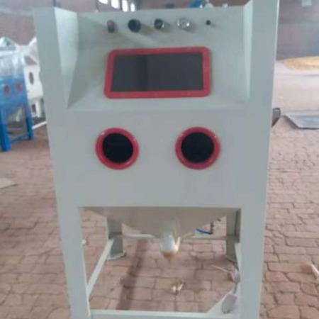 沧州商隆喷砂机厂家直销 环保喷砂机 1090高压高效喷砂机 小件除锈机