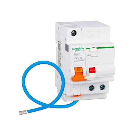 施耐德断路器  漏电保护空气开关10A 正品施耐德电气厂家直销