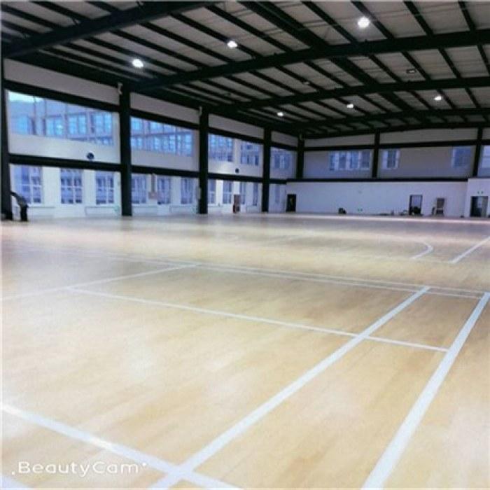 厂家批发运动木地板双龙骨运动木地板定制加工