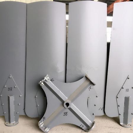 冷却塔风机铝合金风叶 直径3.8m冷却塔铝合金扇叶
