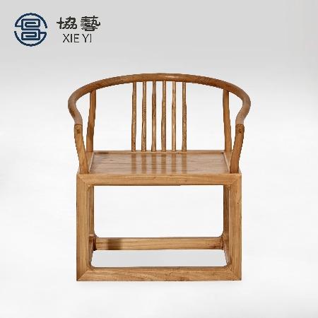 新中式家具实木茶椅茶室椅子新中式椅子新中式家具厂厂家直销定制[协艺家具]