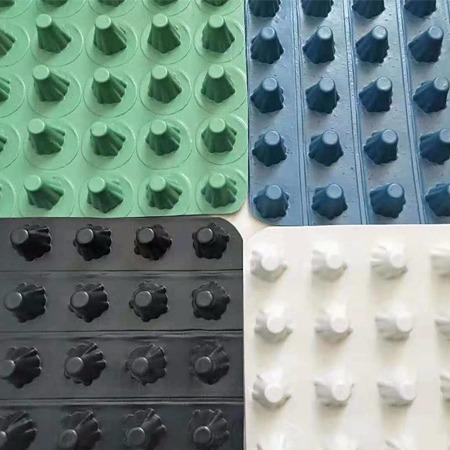 排水板疏水板厂家直供 免费取样支持定制  HDPE排水板各种型号齐全 兴联凹凸排水板