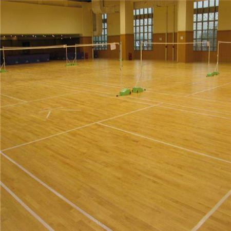 鑫德体育运动木地板生产厂家篮球馆体育木地板专业施工