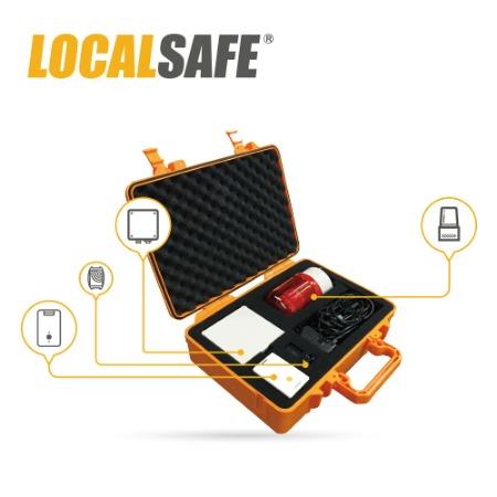 LocalSafe工业级车辆/人员测距报警系统,叉车定位报警系统