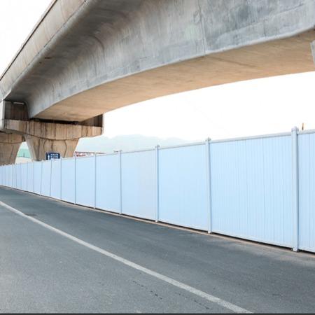 旭东钢构简易工地围挡 深圳市 PVC施工围墙