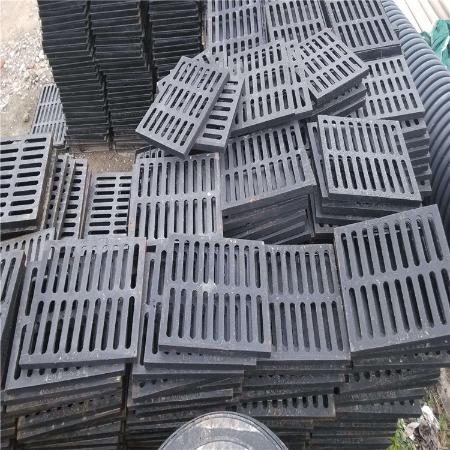江苏球墨铸铁雨水篦子 雨水沟盖板 400*600铸铁篦子