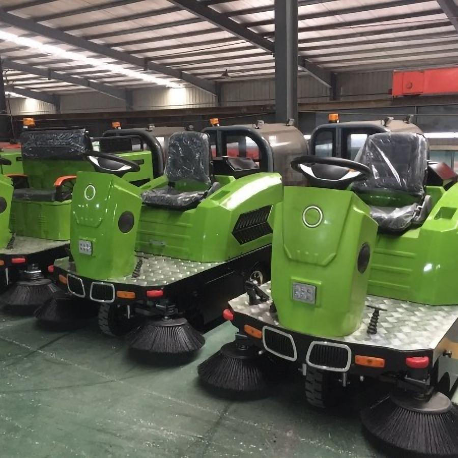 JBL/金百力 2019新款1.5m三轮扫地车无蓬 驾驶式扫地车多少钱 吸尘扫地车价格 扫地车厂家