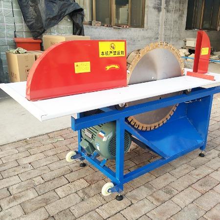 加气块切砖机电动全自动泡沫砖切割机台式带锯环保切加气块切砖机