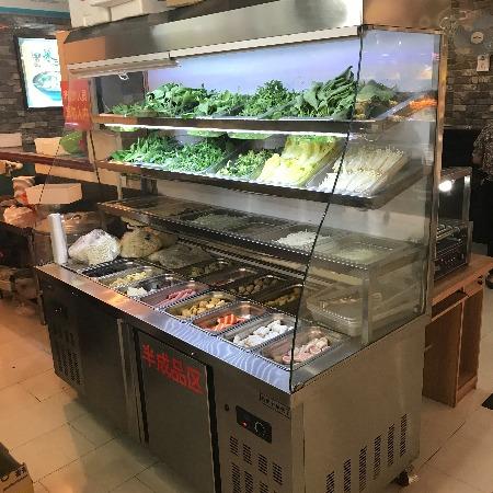 鼎好水果保鲜柜立式冷藏展示柜商用超市饮料风幕柜小型风冷蛋糕柜