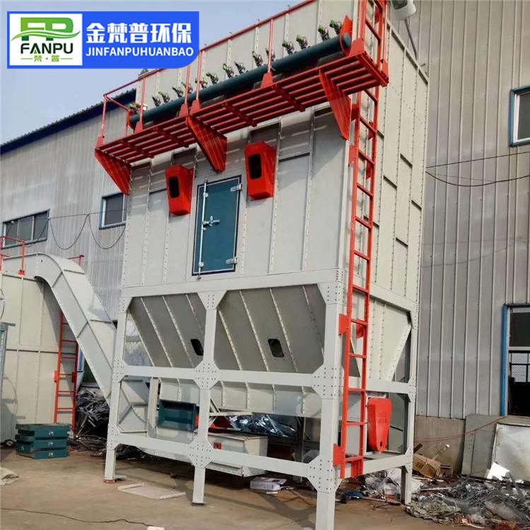 脉冲布袋除尘设备环保集尘系统工业高温脉冲布袋除尘设备中央除尘设备