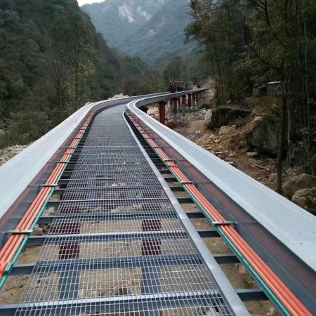 南阳钢格板厂家 踏步板 平台格栅板
