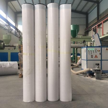 厂家直销TPO高分子自粘防水卷材 湿铺反应自粘防水卷材 预铺自粘防水卷材