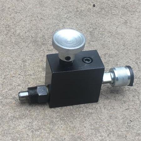 【晟羯】节流阀,用于电动泵站,防止压力过高