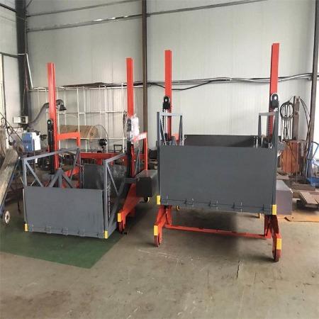 济南源泉移动式卸货平台 1吨2吨3吨小型叉车卸货平台 支持定制