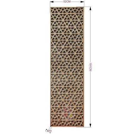 东阳仿古厂家古典木格 木花格订制批发 现货榆木窗花格 背景实木格家居装饰花格