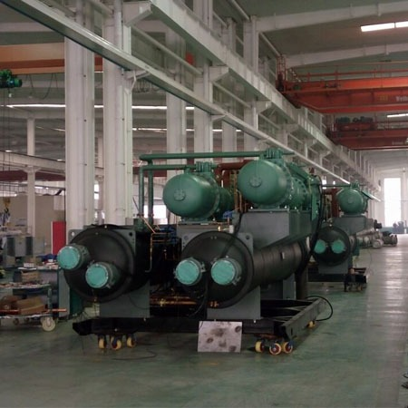 邯郸水源热泵机组厂家普铭电气设备