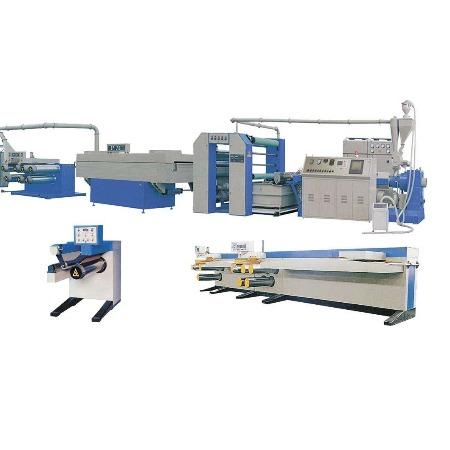 恒瑞克供应成套编织袋生产设备塑料拉丝机SJPL-Z系列塑料挤出平膜扁丝机组