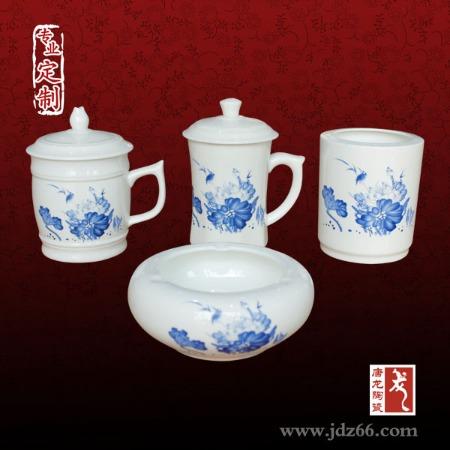 定做陶瓷茶杯三件套 景德镇茶杯生产厂家