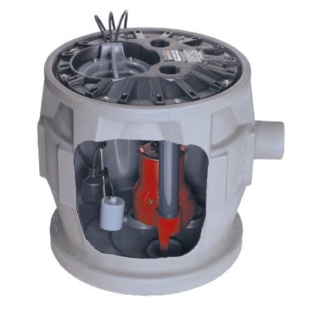 美国利佰特家用污水提升器设备厂家   Pro380系列别墅污水提升器装