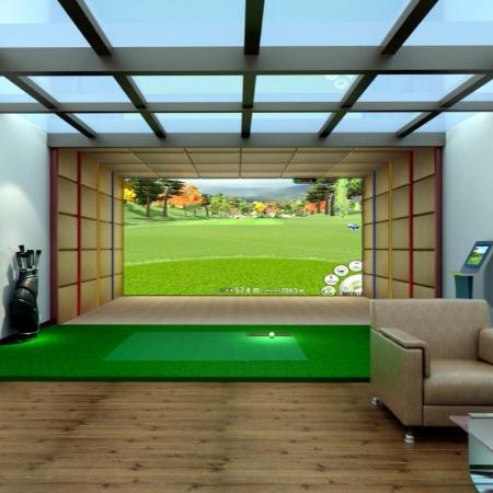 德安诚模拟高尔夫系统  虚拟高尔夫  室内高尔夫  高尔夫模拟器  高尔夫练习