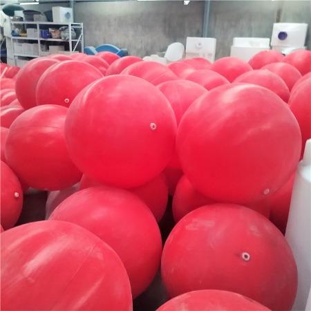 友特批發80公分中間穿鋼絲浮球/PE空心滾塑浮球加工/滾塑浮球模具制造/環保塑料浮球