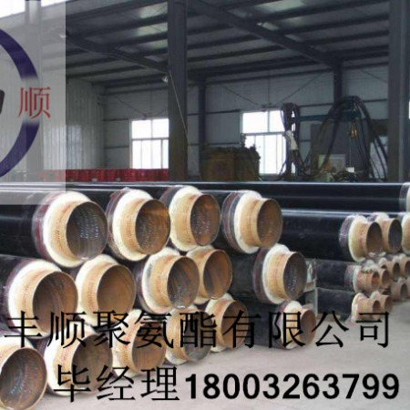 防腐发泡聚氨酯管国标 聚氨酯直埋保温管 直埋复合保温管厂家