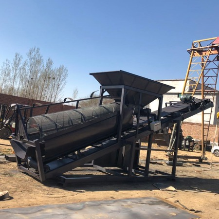 林朋机械 2019生产20型/30型/50型/80型滚筒式筛沙机  震动式筛沙机