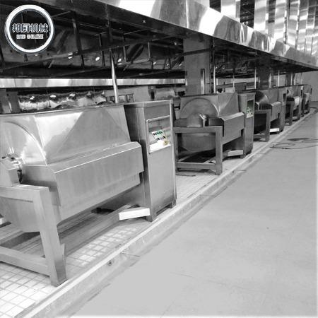 整套商用酱料生产线设备设计特点 多功能海鲜酱料生产线供应商