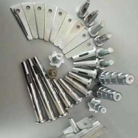 迈航销片生产商紧固模板弯销片带筋销片批发建筑铝模板45号钢销片镀锌三角片