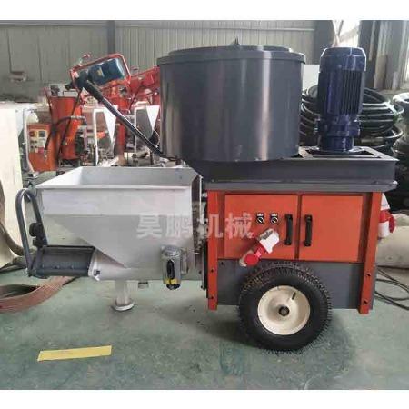 昊鹏建筑 高功率水泥砂浆喷涂机 搅拌输送一体机