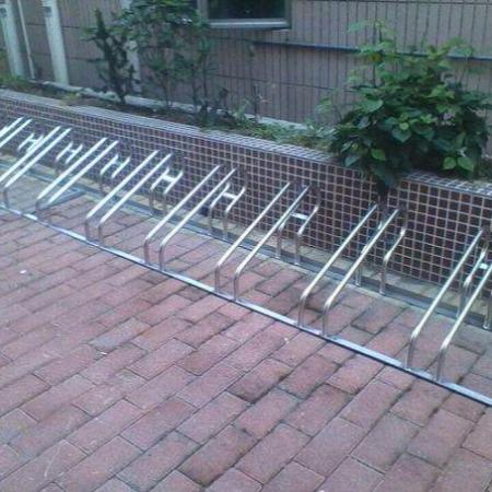 自行车架一体式物业小区商场螺旋式自行车停放架子