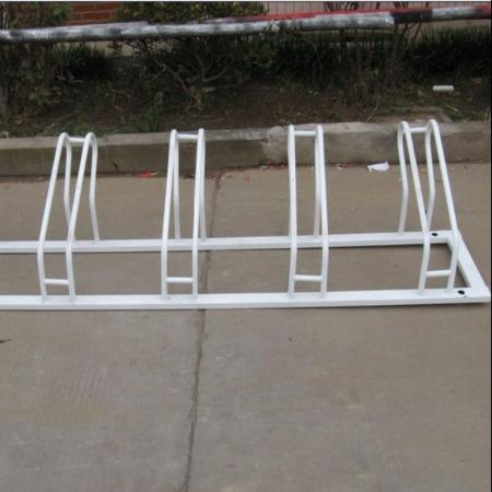 防盗型螺旋式不绣钢自行车架批发山西自行车架单车停车架