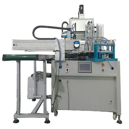 厂家直销套尺学生直尺文具用品专用丝印机 机械手自动上下料丝印机