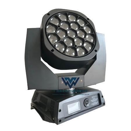 19颗大蜂眼19*15W LED摇头染色光束灯 19颗调焦摇头灯