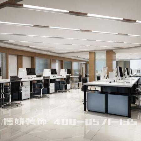 【博妍装饰】-  杭州专业办公室装修公司,资质优、工期短、工程质量优