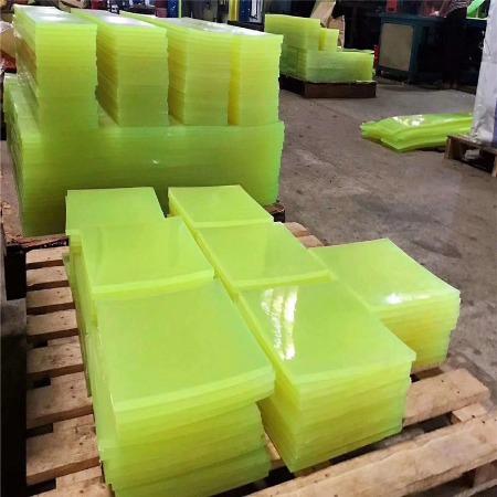 聚氨酯板 PU棒板 刀模垫板 减震高耐磨优力胶棒 牛筋板 弹性橡胶棒 PU棒板加工 PU棒板零切