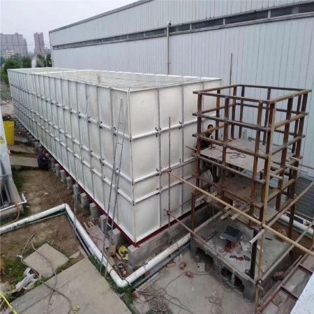 玻璃钢水箱 热镀锌地埋式水箱 304不锈钢水箱 消防水箱支持定制厂家直销