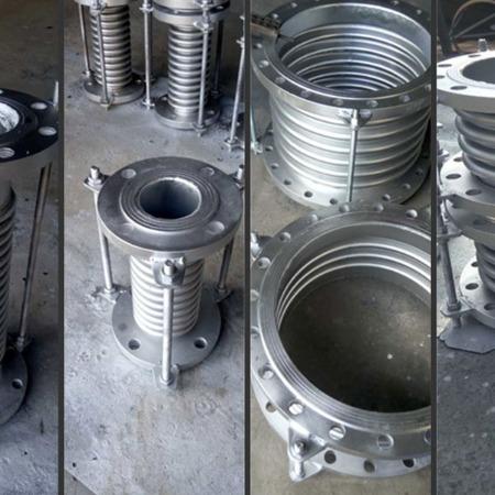 出售金属波纹管补偿器 通用型法兰膨胀节 不锈钢波纹管补偿器