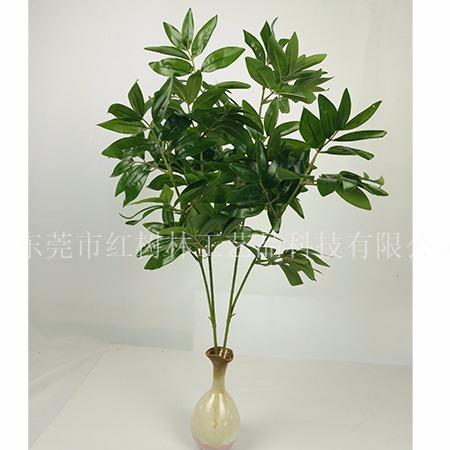 仿真植物-仿真绿植盆景-假绿植盆栽-假竹柏-东莞市红树林工艺品科技有限公司