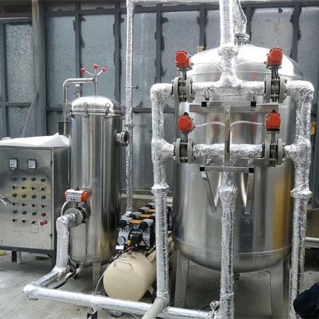 洗浴设备定制厂家普铭电气地热井水间接利用设备