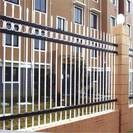 小区锌钢护栏 厂家批发 厂区插拔式围栏网 小区锌钢围栏供应