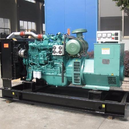 柴油发电机组300KW玉柴 300千瓦无刷发电机组 全铜自启动三相380V