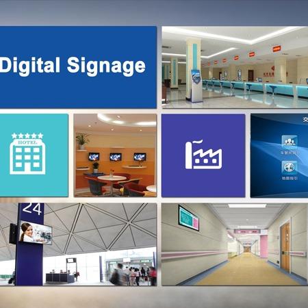 壁挂广告机  信息发布系统 重庆望卓科技 现货供应