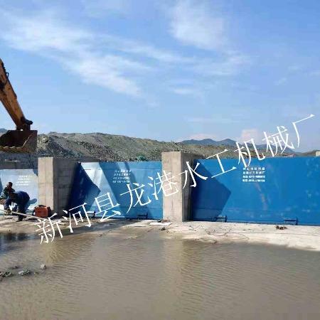 漂流液压平板钢坝价格 水库电站翻板闸门 液压弧形钢坝闸门  龙港水工