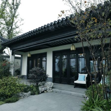 南京 穆得森勒 新品凹凸中式仿古 铝合金 复古门窗四合院门窗