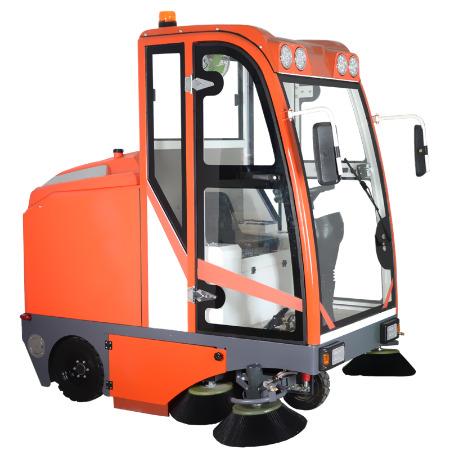 驾驶式扫地机 征翔ZX-S10 道路清扫车吸尘扫地车 周口电动扫地车厂家价格直销