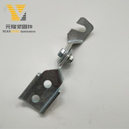厂家供应抗震铰链B c型钢支吊架配件连接件 抗震支架可调式铰链 现货批发