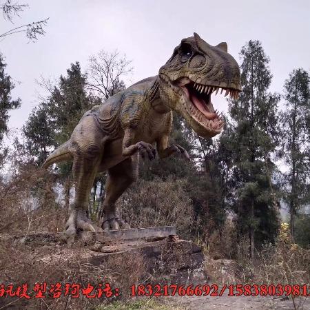 仿真恐龙模型出租机械恐龙展制作会叫会动恐龙出售