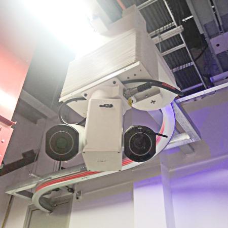 电网智能巡检机器人 移动导轨式监控摄像 达可益轨道机器人厂家