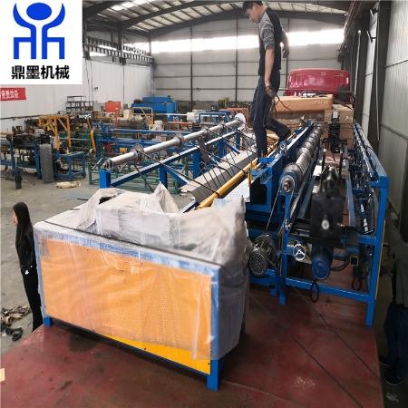 厂家直销双丝勾花网机 煤矿编织机 勾花网机专业制造